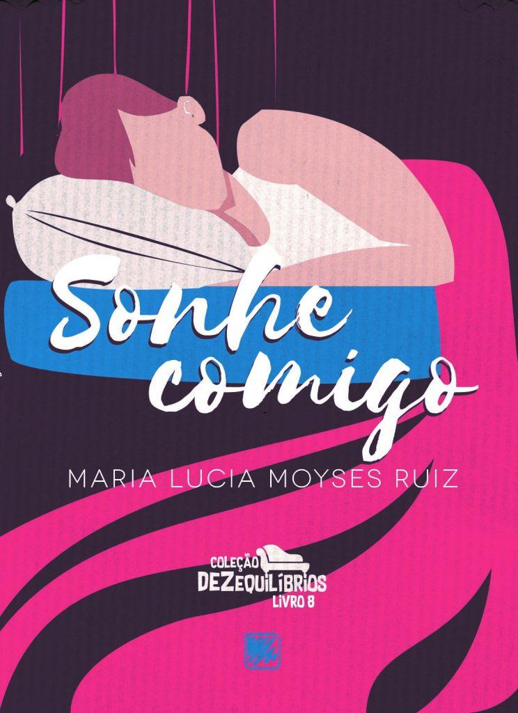 Lucia Moyses Coleção Dezequilíbrios Mulher Vestido Azul, SONHE COMIGO