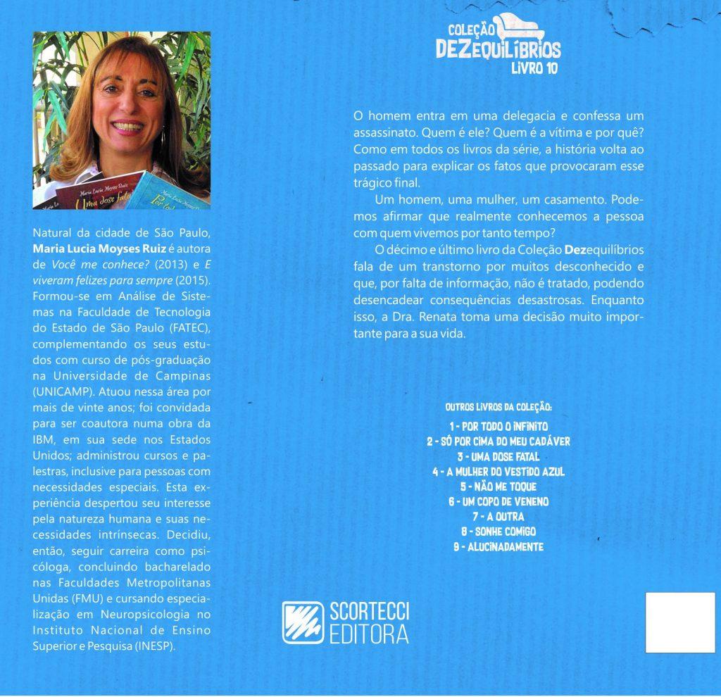Lucia Moyses Coleção Dezequilíbrios Mulher Vestido Azul, RÉU CONFESSO